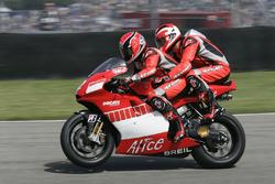 Randy Mamola, Michael Schumacher, Ducati Team Double seater