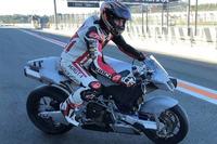 Keanu Reeves en el Circuito Ricardo Tormo de Valencia