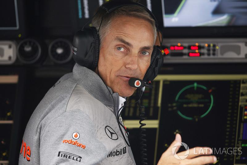 Martin Whitmarsh, director de McLaren