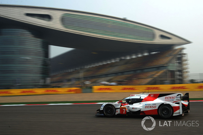 1. LMP1: #7 Toyota Gazoo Racing, Toyota TS050-Hybrid