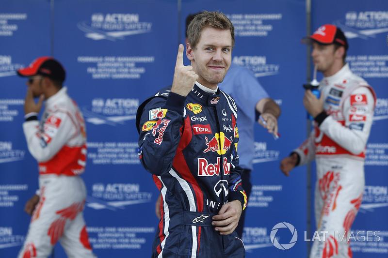 3. 2011 - Sebastian Vettel, Red Bull (82,5%)