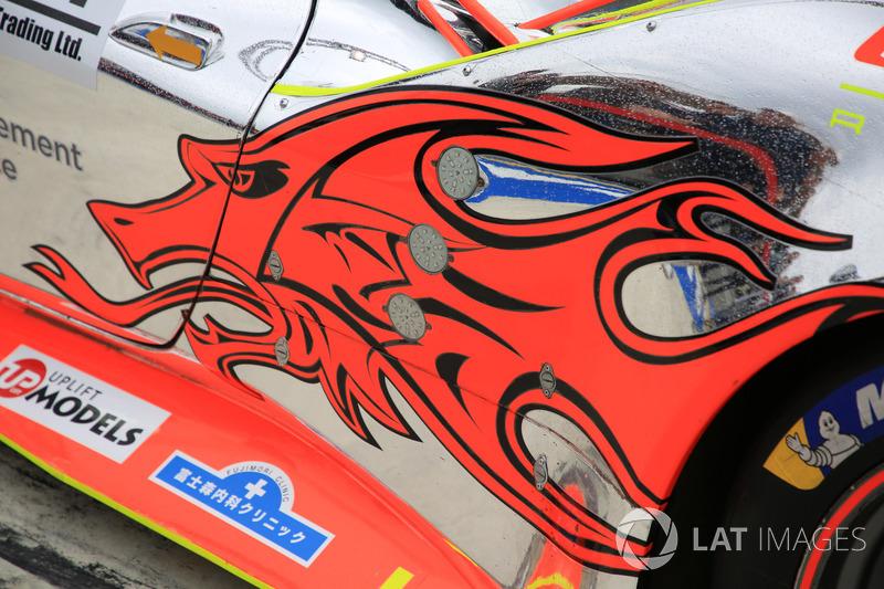 #61 Clearwater Racing Ferrari 488 GTE