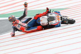 La caduta di Jack Miller, Pramac Racing