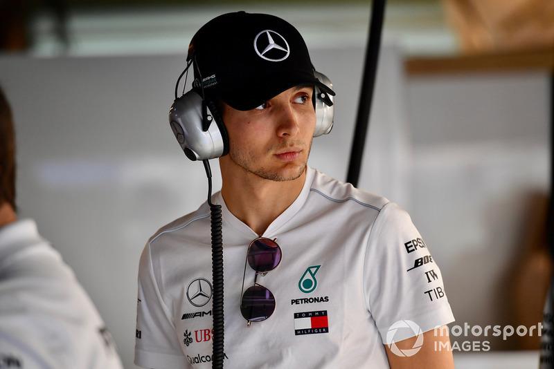 Esteban Ocon, collaudatore e pilota di riserva, Mercedes-AMG F1