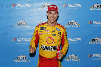 Joey Logano, Team Penske, Ford Fusion Shell Pennzoil pole award