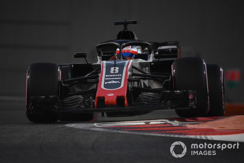 7: Romain Grosjean, Haas F1 Team VF-18, 1'36.192