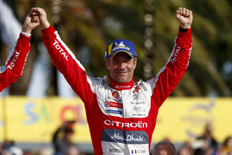 Le vainqueur Sébastien Loeb, Citroën World Rally Team Citroën C3 WRC