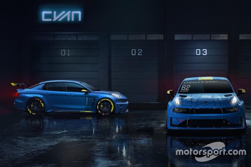Lynk & Co TCR by Cyan Racing