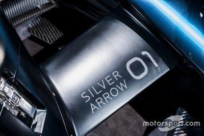 Präsentation: Mercedes EQ Silver Arrow 01