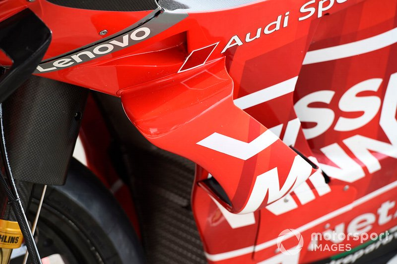 Ducati Team, dettaglio della carena