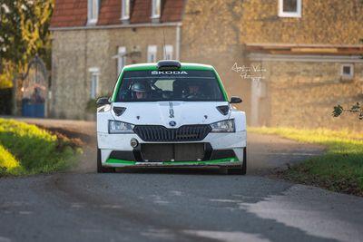 Oliver Solberg - Testy przed Ypres Rally Belgium