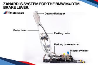 Zanardi'nin BMW M4 DTM fren kolu
