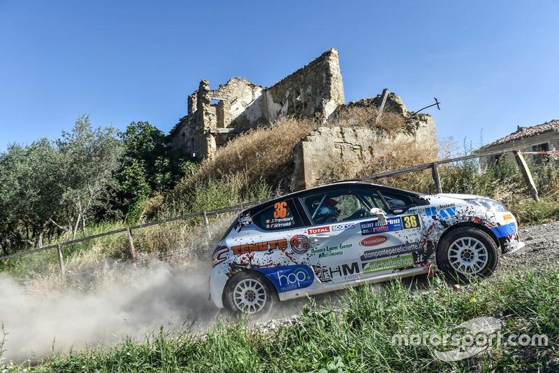 Jacopo Trevisani, Grimaldi Fabio, Peugeot 208 R2B, HP Sport