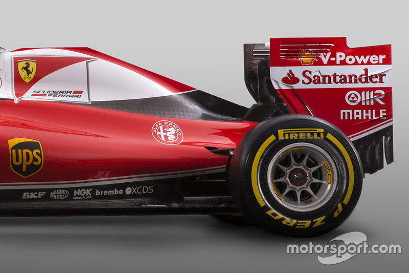 Ferrari SF16-H detalle