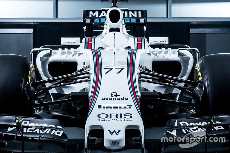 Valtteri Bottas, detalhe da Williams FW38