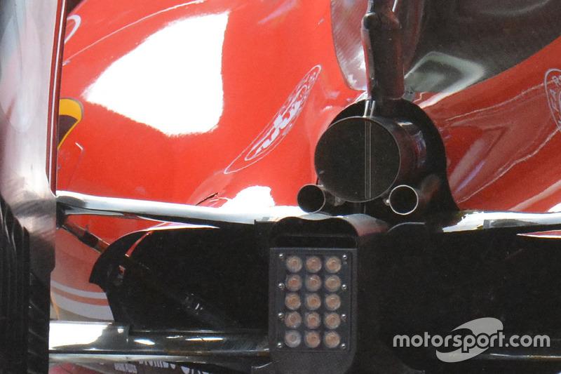 Heckdetail, Ferrari SF16-H