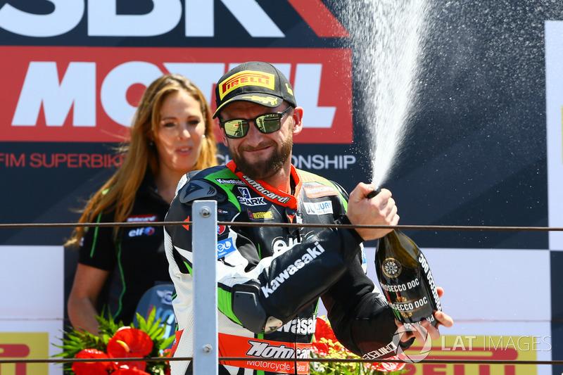 1. Tom Sykes, Kawasaki Racing