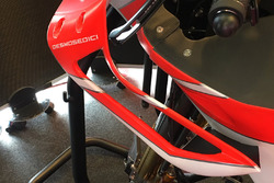 Ducati Team bike fairing detail