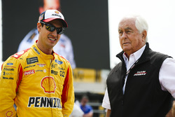 Joey Logano, Team Penske Ford, team owner Roger Penske