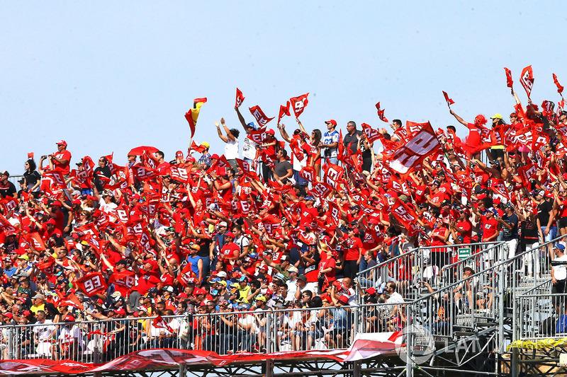 Des fans de Marc Márquez