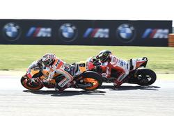 Марк Маркес випереджає Хорхе Лоренсо, Ducati Team