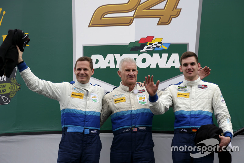#21 Konrad Motorsport Lamborghini Huracan GT3: Marco Mapelli, Marc Basseng, Luca Stolz, Lance Willse