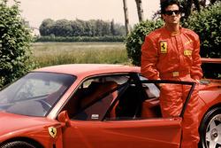 Ferrari F40 ve Sylvester Stallone Fiorano'da 1990
