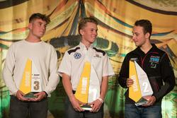Rookiewertung 2017: 1. Luca Engstler, Liqui Moly Team Engstler, VW Golf GTI TCR, 2. Simon Reicher, Certainty Racing Team, Audi RS3 LMS, 3. Rudolf Rhyn, TOPCAR Sport, Seat Leon TCR