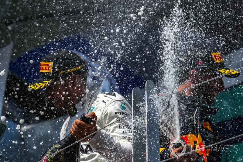 Lewis Hamilton et Daniel Ricciardo