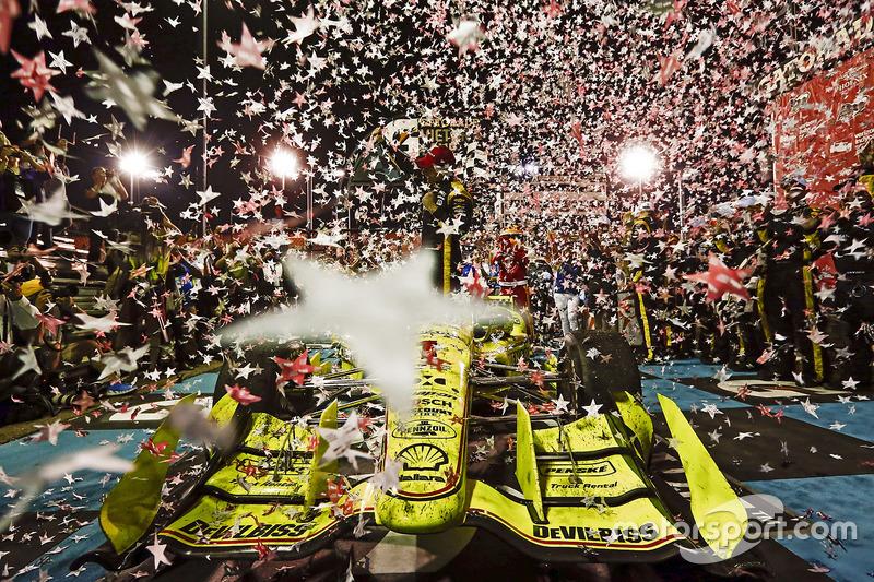 В 17 гонках было девять разных победителей