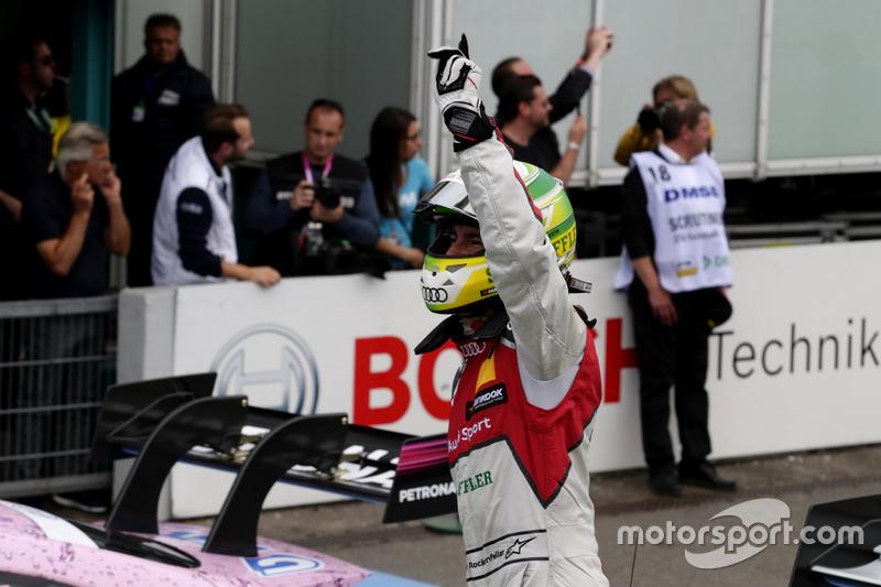 Third place Mike Rockenfeller, Audi Sport Team Phoenix, Audi RS 5 DTM