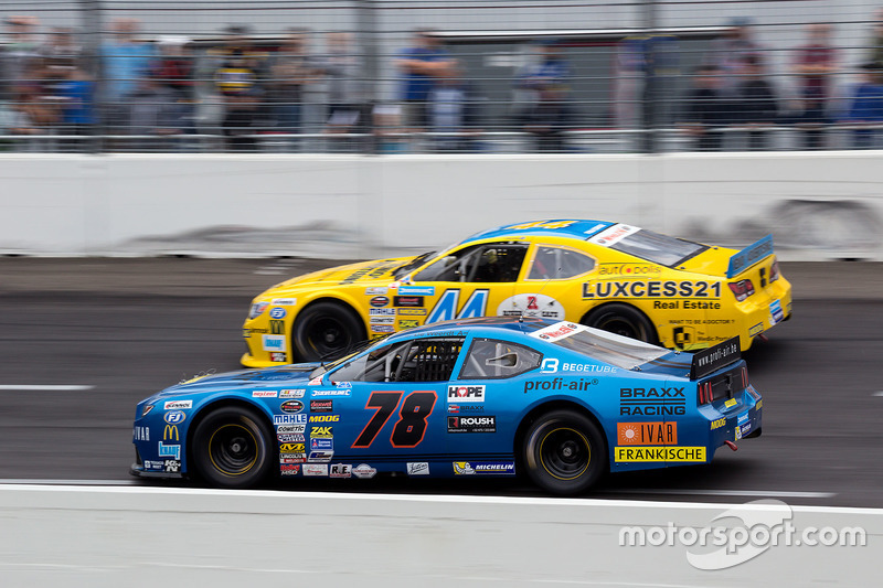 Jerry de Weerdt, Braxx Rcing Ford und Freddy Nordstrom, CAAL Racing Chevrolet