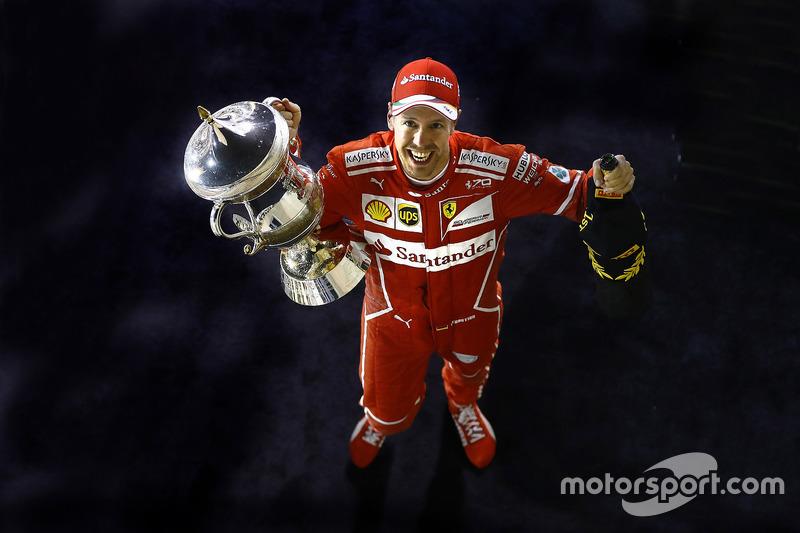 Gewinner: Sebastian Vettel