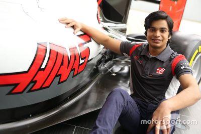 Annonce d'Arjun Maini chez Haas