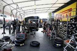 Pirelli-Reifenlager