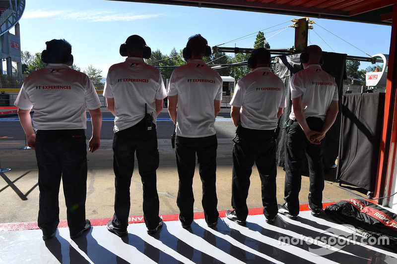 Механики F1 Experiences