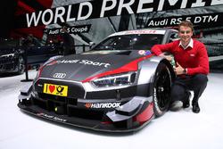 Nico Müller, Audi RS5 DTM, Salone Auto di Ginevra