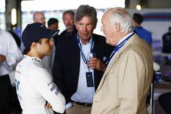 Felipe Massa, Williams, mit Gästen