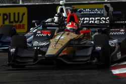 James Hinchcliffe, Schmidt Peterson Motorsports Honda, Max Chilton, Chip Ganassi Racing Honda