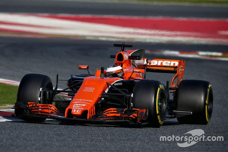 17º Stoffel Vandoorne, McLaren MCL32, 1m21.348s (ultrablandos)