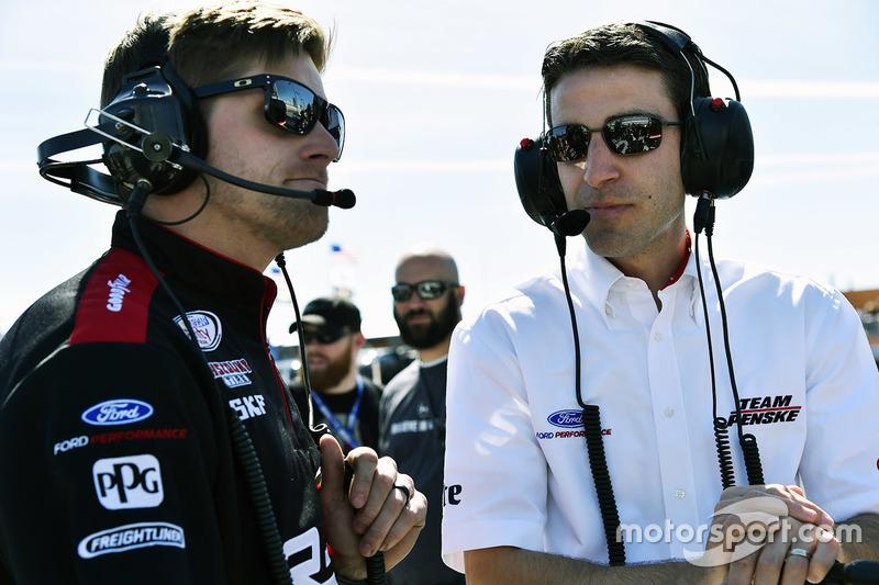 Travis Geisler y Ryan Flores, Team Penske