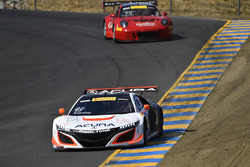 #43 RealTime Racing Acura NSX GT3: Ryan Eversley, #99 Gainsco/Bob Stallings Racing McLaren 650S GT3: Jon Fogarty