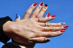 Painted nails