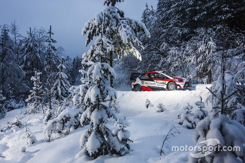 8. Juho Hänninen, Kaj Lindström, Toyota Yaris WRC, Toyota Racing