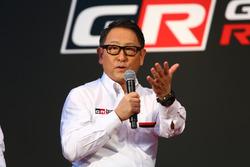 TOYOTA GAZOO Racing, 豊田章男社長