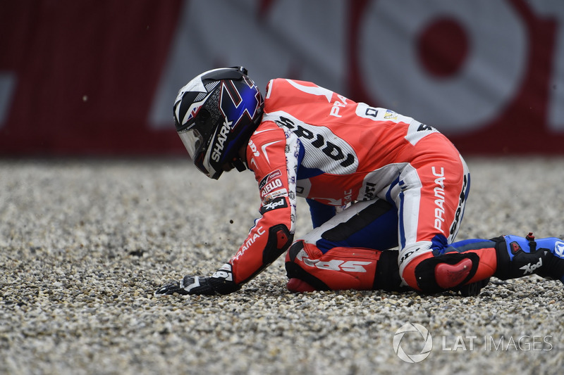 Unfall: Scott Redding, Pramac Racing