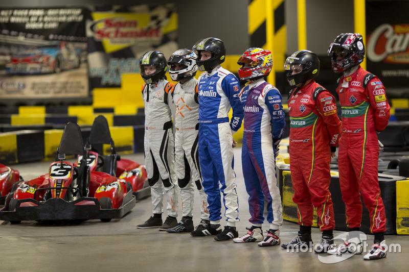 El piloto holandés Bono Huis, su compañero de equipo Jérôme d'Ambrosio, el equipo de Dragon Racing Aleksi Uusi-Jaakola y su compañero de equipo Robin Frijns, el equipo de Fórmula E de Amlin Andretti y Patrick Holzmann y su compañero de equipo Daniel Abt, ABT Schaeffler Audi Sport