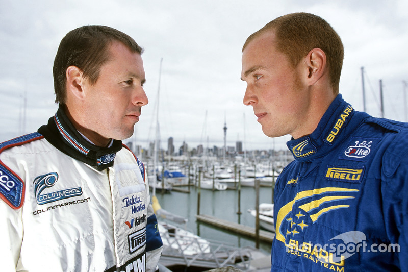 Colin McRae and Richard Burns