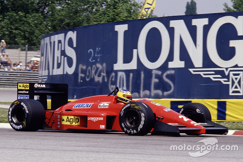1987: Michele Alboreto, Ferrari F1-87