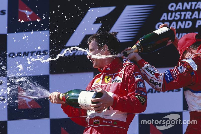 7 victorias en Melbourne fueron ganadas por pilotos de Ferrari